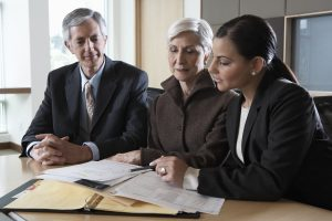 executives helping small business tax clients